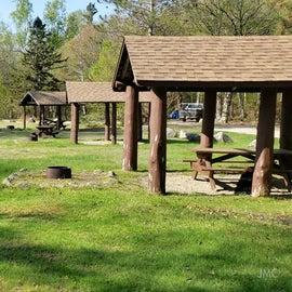 Day use picnic area Katahdin Stream Campground