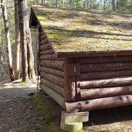 Lean-to 1 Katahdin Stream Campground