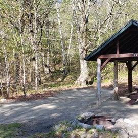 Site 22 Katahdin Stream Campground