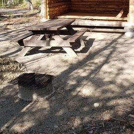 Site 8 Katahdin Stream Campground
