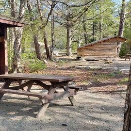 Site 7 Katahdin Stream Campground