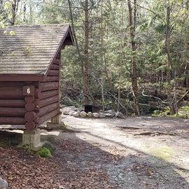 Site 6 Katahdin Stream Campground