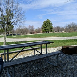 All sites have picnic tables and fire rings