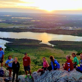 Sunrise Hike to the top of Arthur's Rock.