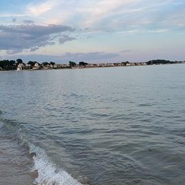 The shore!