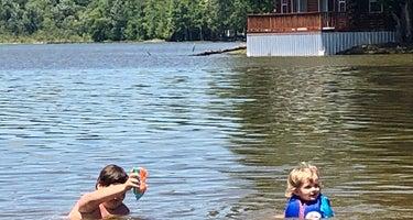 Yogi on the Lake