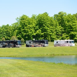 Campground is well-suited for any size RV.