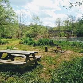 Riverfront South Site, view upstream/Largent Bridge