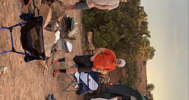 Dispersed camping near orangeville
