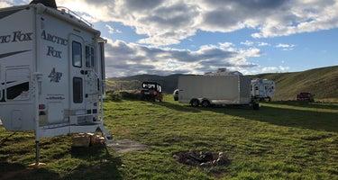 Dispersed Camping on Mud Creek Road