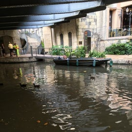 The river walk, restaurants to try, stores to explore and boats to ride. The Alamo is nearby.