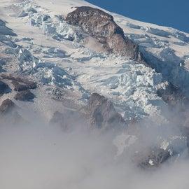 View point of Mt Rainier near Paradise