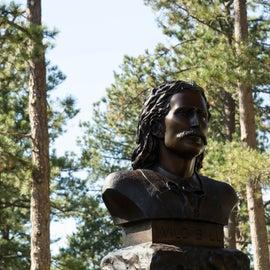 Wild Bill Hickok's grave site