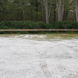 Parking for the campsites that do not have parking