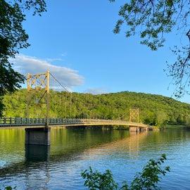 The historic bridge.