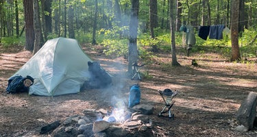 Cheaha Falls Private Backcountry Campsite