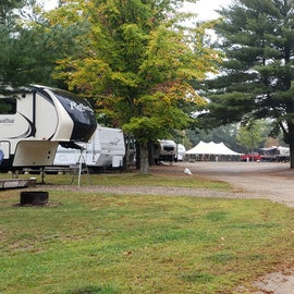 RV sites with patios
