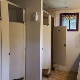 Clean bathroooms