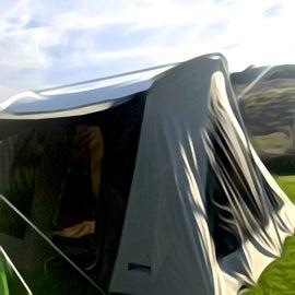 The campsites are spacious.