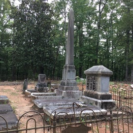 Old Grave yard in the park