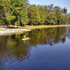 Kayaking on Lake Norton