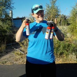 Don't forget your bear spray!