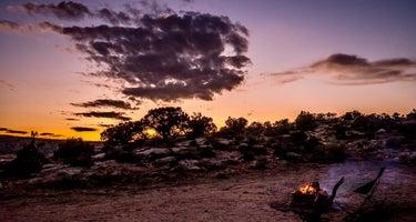 Salt Valley Dispersed Camping