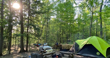 Penitentiary Glen Reservation Campsite