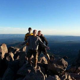 Highest point on Mt. Lassen