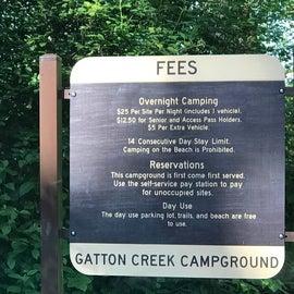 fees placard