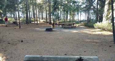 Sunset Campground at Lake of the Woods
