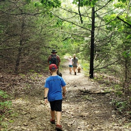 Table Mound Hiking Trail