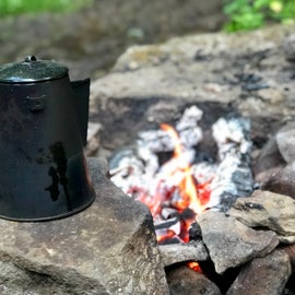Nothing beats campfire coffee!