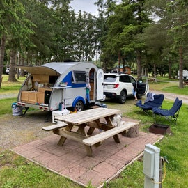 Our spot at the campground