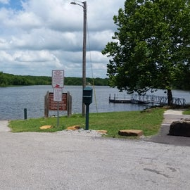 There is a boat ramp available with a small dock for fishing or mooring your boat or pwc.