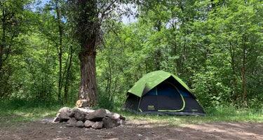 Dispersed Camping Willow Spring