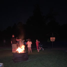Campfires with the neighbors