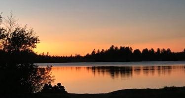 Unknown Lakes campsites