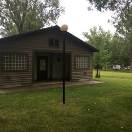 Main campground bath house