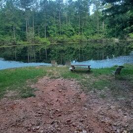 Remote fishing pond