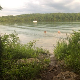 Easy lake access