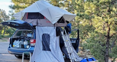 Manti-LaSal National Forest Devil's Canyon Campground