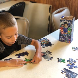 Beacon 44 Clubhouse - games and puzzles