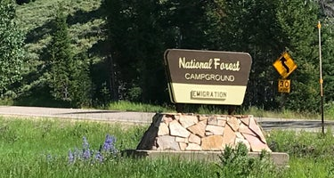 Caribou National Forest Emigration Campground