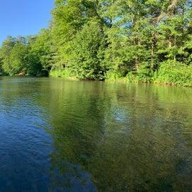 Panoramic of the river. Beautiful!