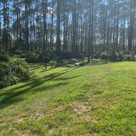 A couple camp sites