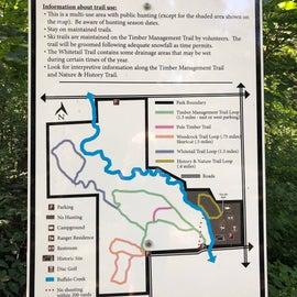 Woodland Trails Map