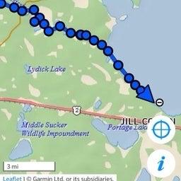 Location at sw corner of Lake Winnie