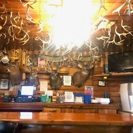Inside nearby Flambeau Forest Inn
