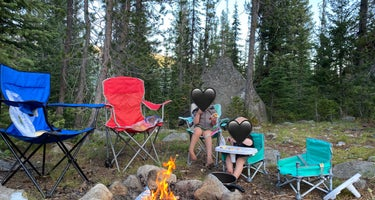 Upper Payette Lake Dispersed Camping Area